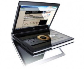 Acer: un 2011 tra tablet e notebook dual-screen